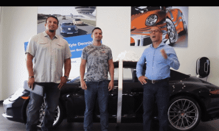 Watch Jason Bond award a $120,000+ Porsche to Kyle Dennis in Las Vegas