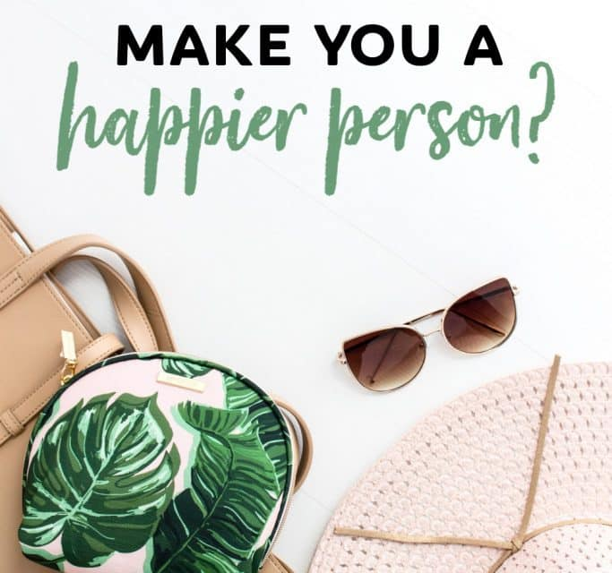 Can Buying Things Really Make You A Happier Person?