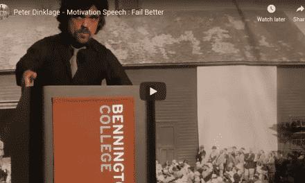 Peter Dinklage – Motivation Speech : Fail Better Secrets Revealed