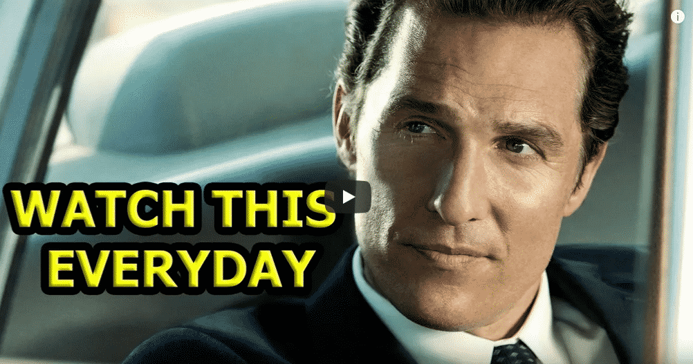 Matthew McConaughey Shares 5 Life Lessons During University of Houston Commencement Address