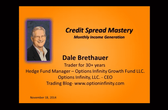Credit Spread Mastery   Dale Brethauer