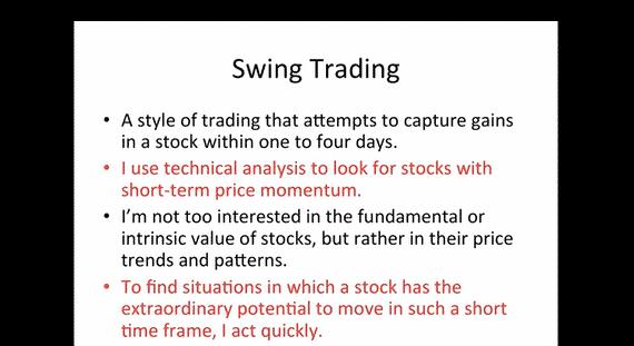 7 Step Swing Trading
