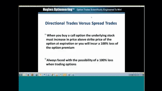 Chuck Hughes: Stock and Option Spread Trading