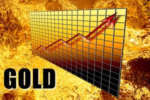 Gold Wealth Graph Arrow