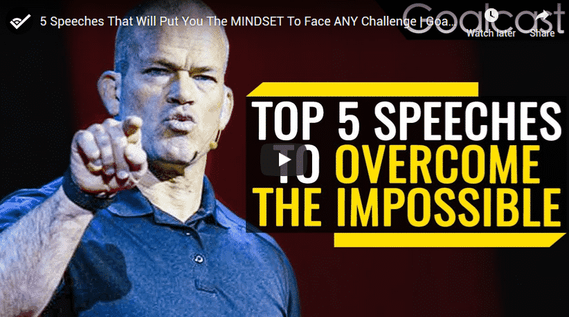 Most Successful 5 Speeches That Will Put You The Mindset To Face Any Challenge
