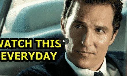 How To Leave The 5 Rules For the Rest Of Your Life / Matthew McConaughey Without Being Noticed