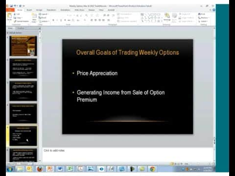 Weekly Stock Trading Strategies