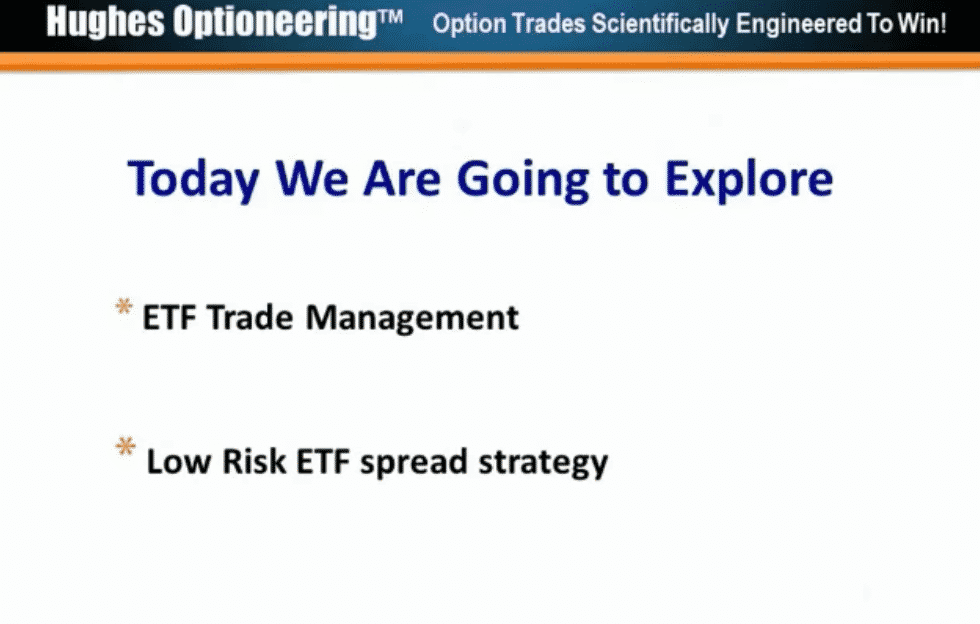 ETF Trade management