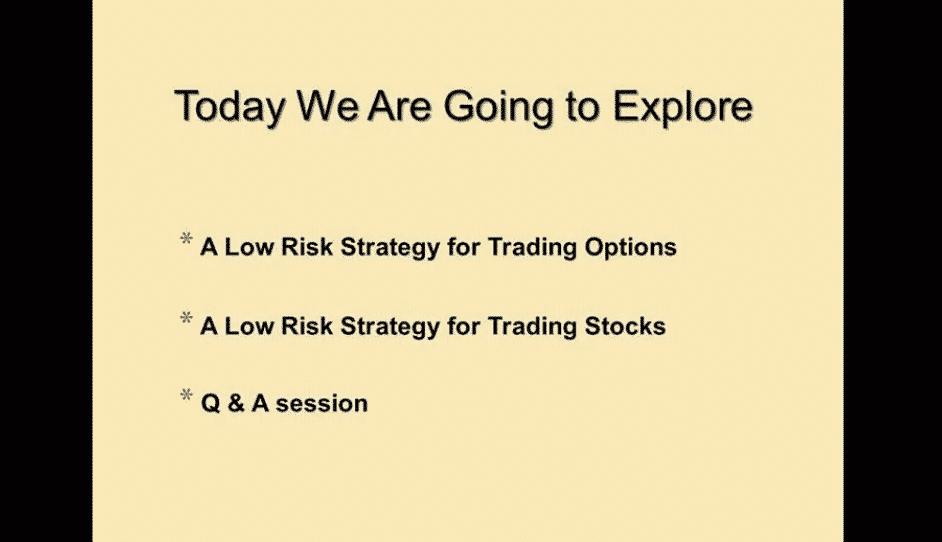 Chuck Hughes Stock & Options Trading Strategies